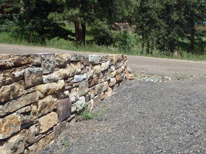 Dry Stack Framing Wall