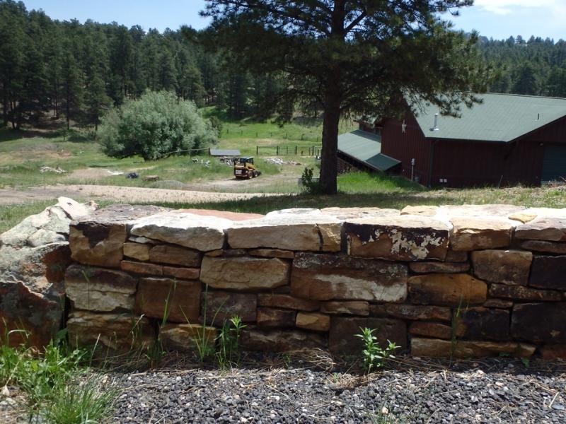Stone Boundry Wall